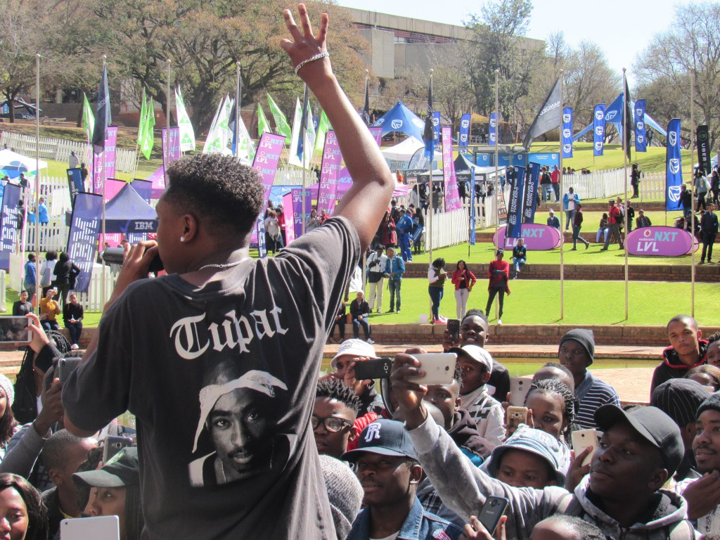 A-reece on stage