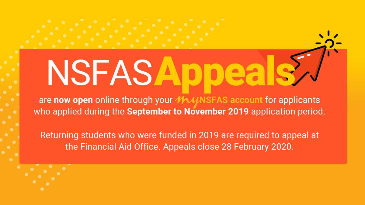 How To Apply For NSFAS Appeal – The Open Journal
