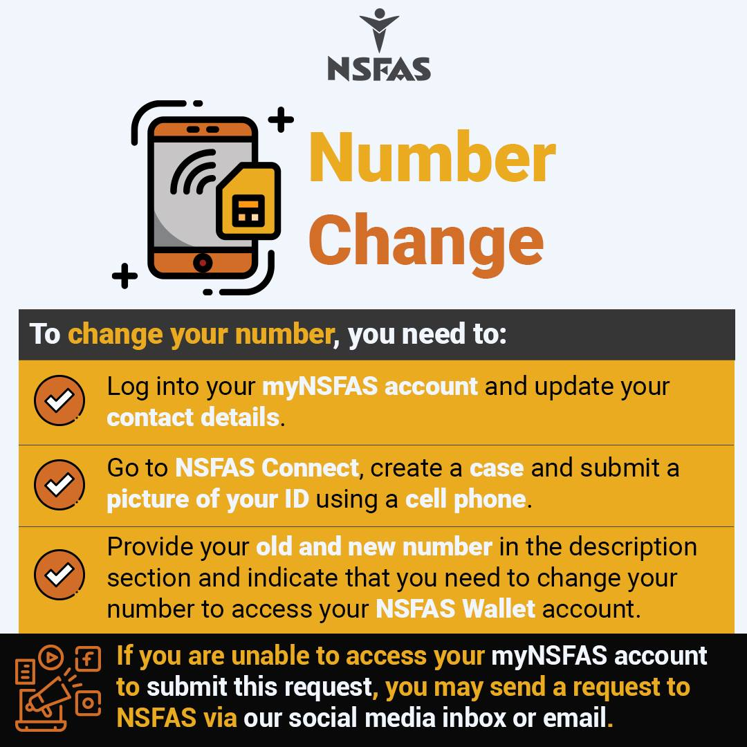 NSFAS Student Changing Numbers